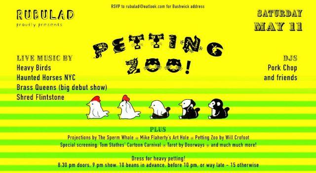 Rubulad Presents: Petting Zoo!