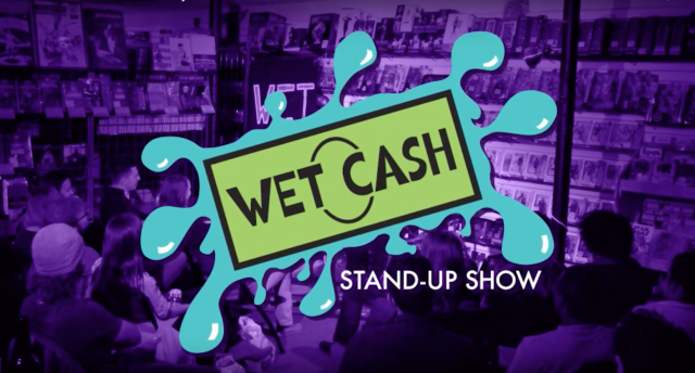 Wet Cash Comedy! Free Beer! For Charity!