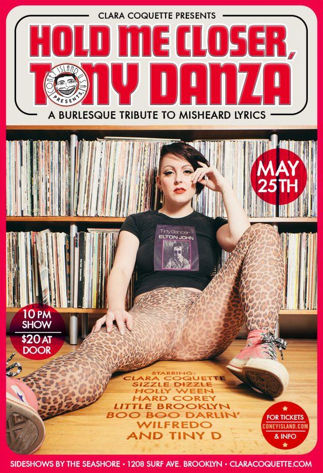 Hold Me Closer, Tony Danza: A Burlesque Tribute to Misheard Lyrics