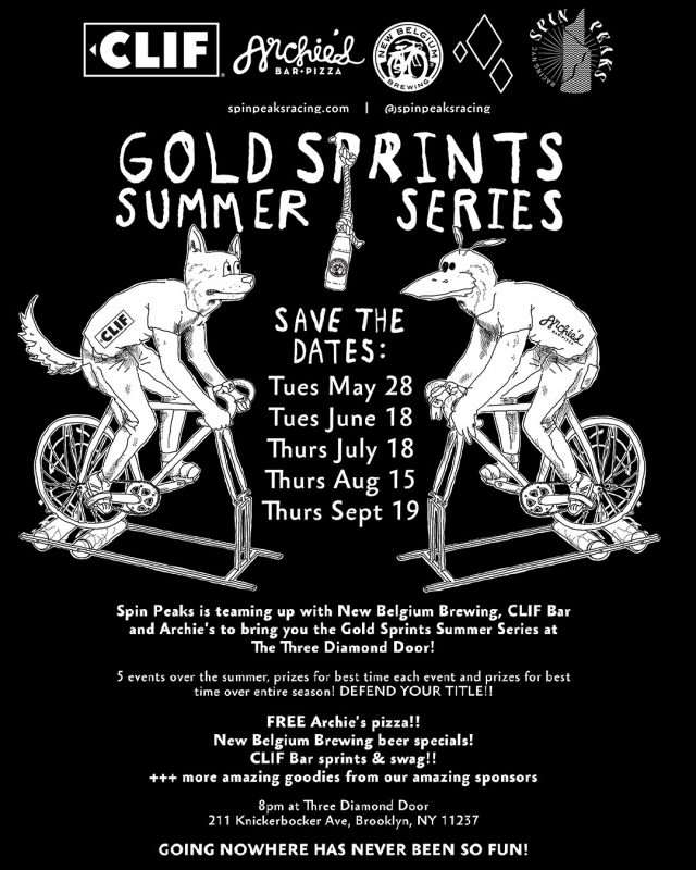 Gold Sprints Summer Series #1
