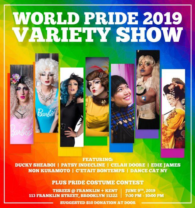 World Pride Variety Show