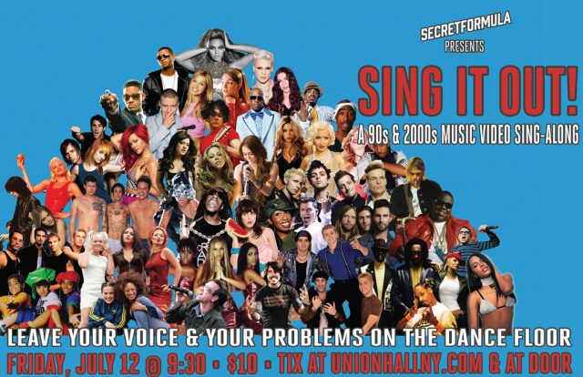 Sing It Out: A 90's & 2000's Sing-Along