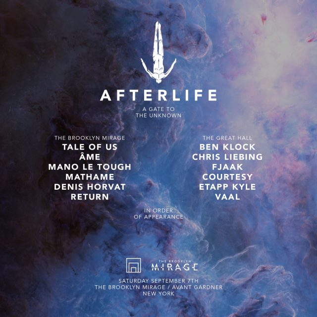 Tale of Us Present 'Afterlife' at The Brooklyn Mirage on September 7th
