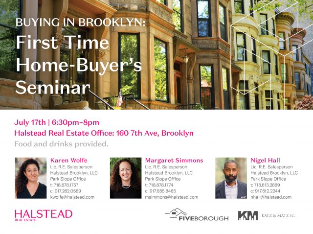 Buying Brooklyn: First Time Home-Buyer's Seminar