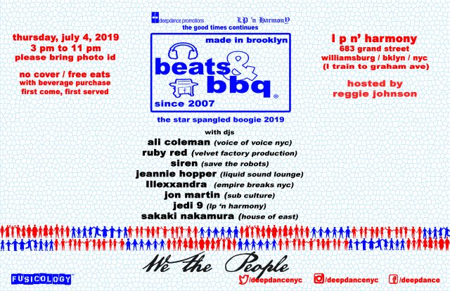 Beats & BBQ: The Star Spangled Boogie 2019