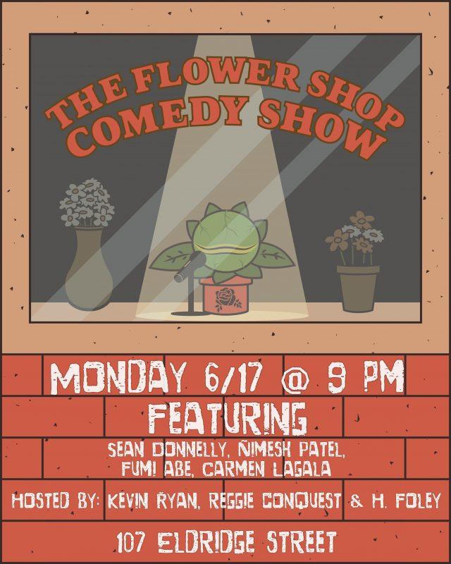 The Flower Shop Comedy Show (FREE)