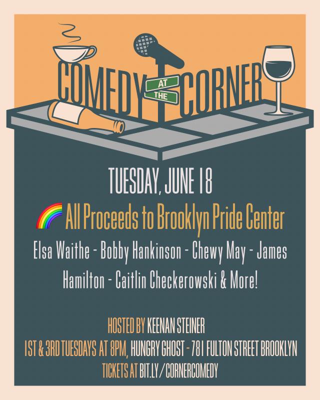 Comedy at the Corner – PRIDE EDITION