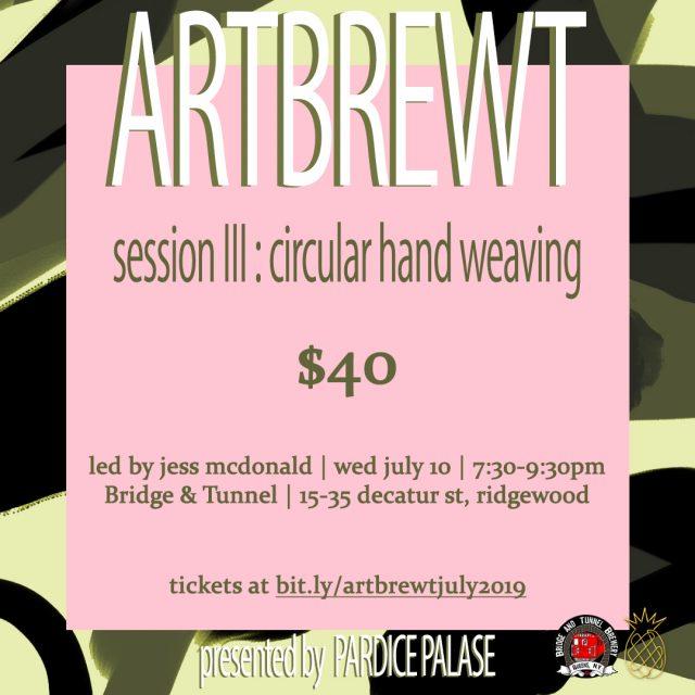 ArtBrewt: Circular Hand Weaving