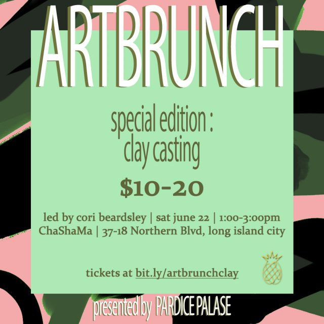 ArtBrunch: Clay Casting Workshop