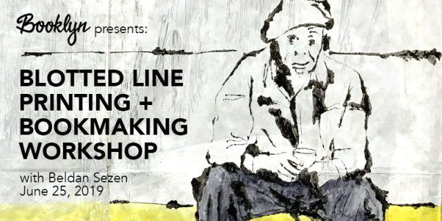 Blotted Line Printing + Bookmaking Workshop