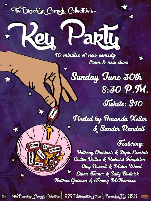 The Brooklyn Comedy Collective's Key Party