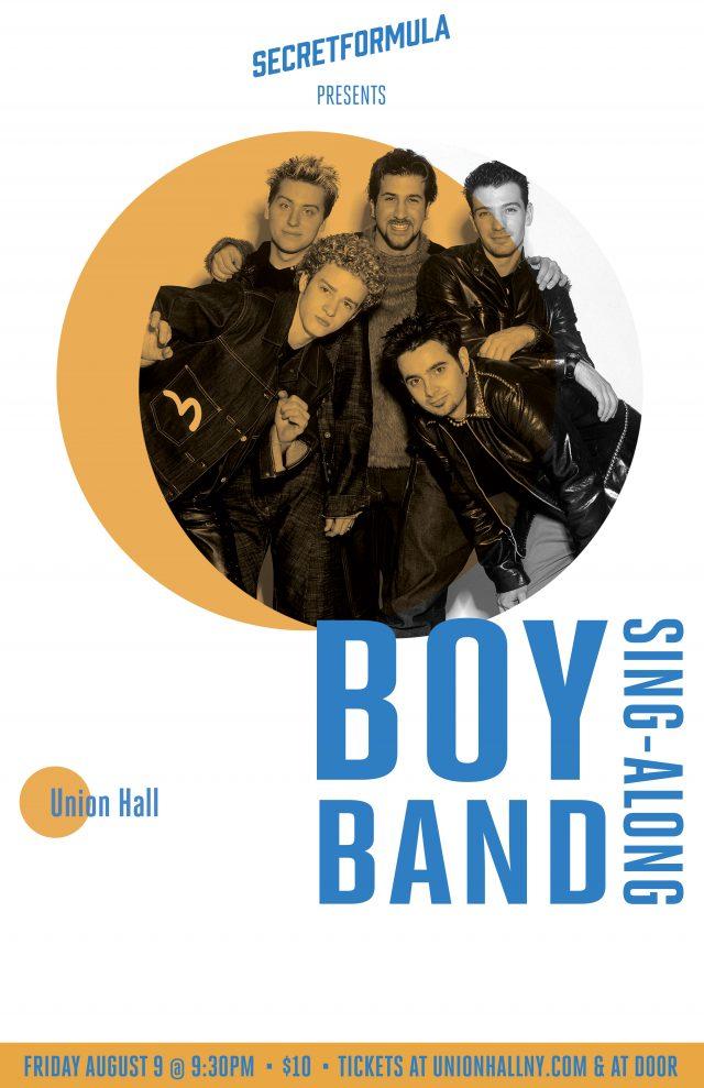 Boy Band Sing-Along