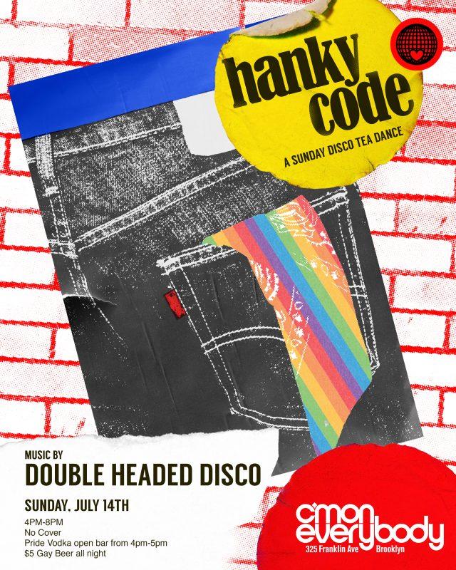 Hanky Code *A Sunday LGBTQIA+ Disco Tea Dance*