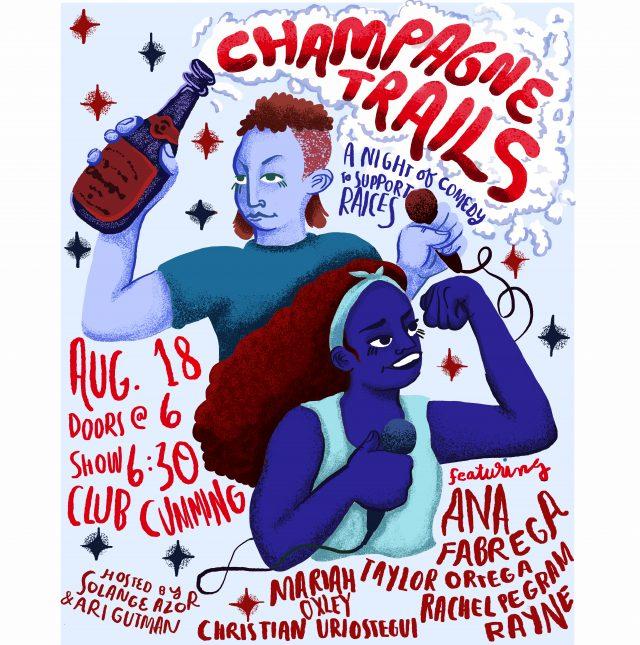 Champagne Trail – RAICES fundraiser