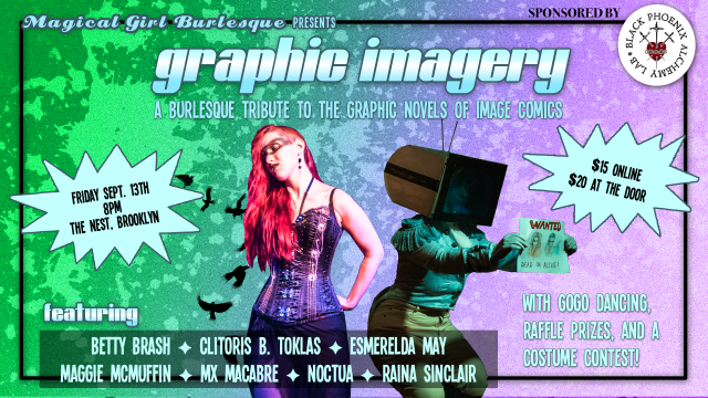 Graphic Imagery: a Burlesque Tribute to Image Comics