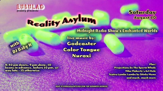 Rubulad Presents Reality Asylum