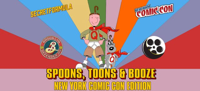 Spoons Toons & Booze New York Comic Con Edition