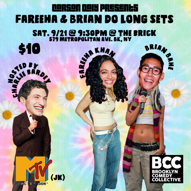 Carson Daly Presents: Fareeha & Brian do Long Sets