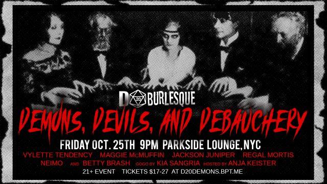 D20 Burlesque's Demons, Devils, and Debauchery