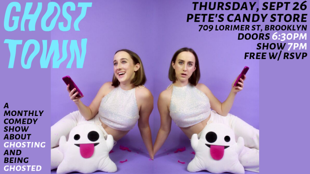 GHOST TOWN COMEDY with Savannah DesOrmeaux
