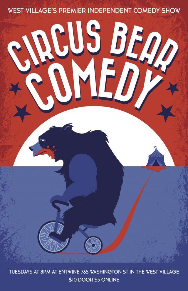 Circus Bear Comedy 11/5