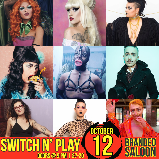 Switch n' Play *October 12*