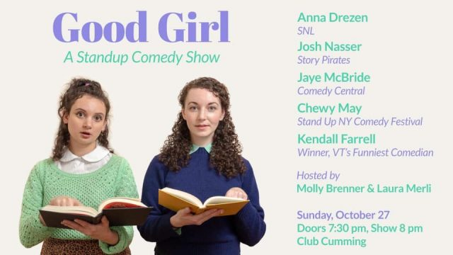 Good Girl: a standup comedy show