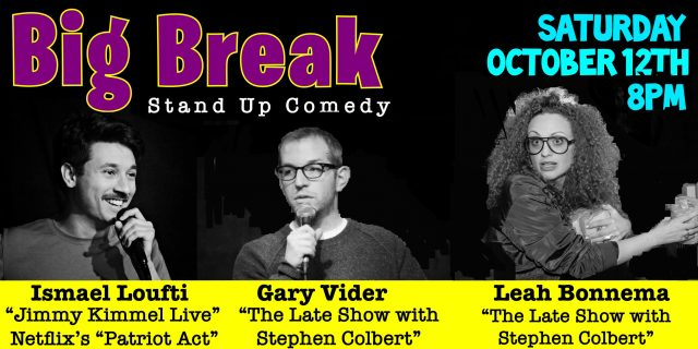 Big Break Stand-Up Comedy