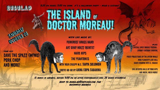 Rubulad Presents: The Island of Doctor Moreau