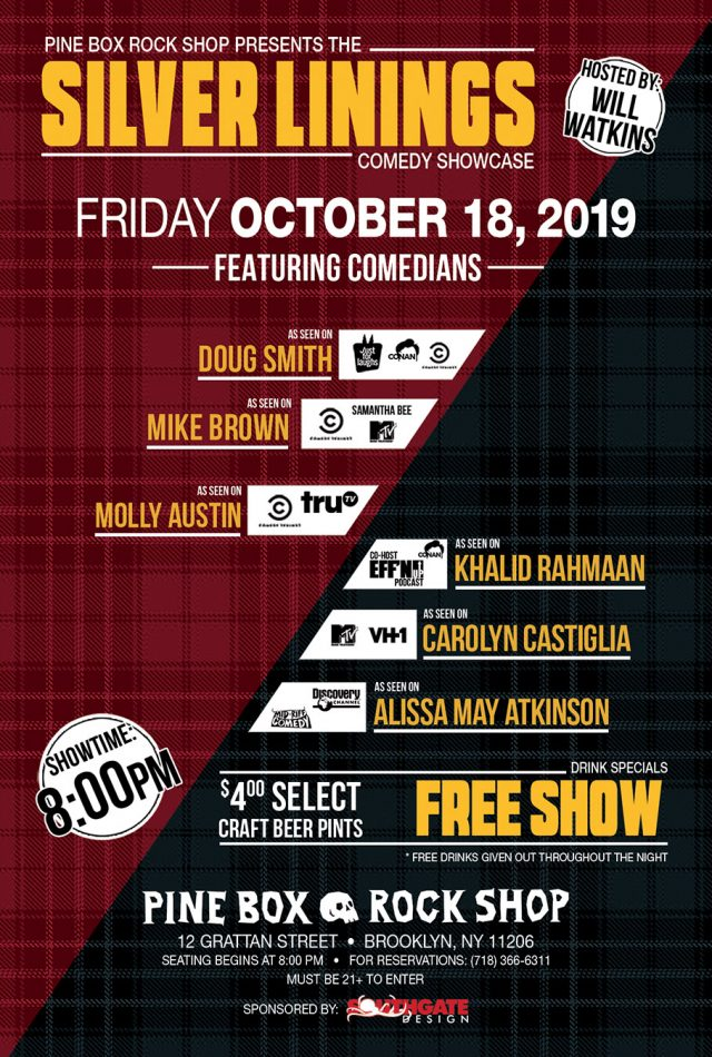 FREE: Silver Linings Comedy Show