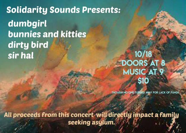 Solidarity Sounds: House Show & Solidarity Room Fundraiser