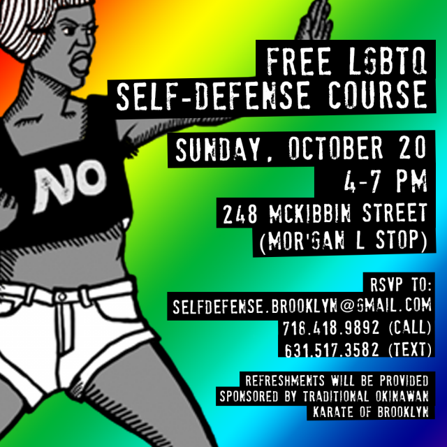 LGBTQ Self-Defense Class (free!)