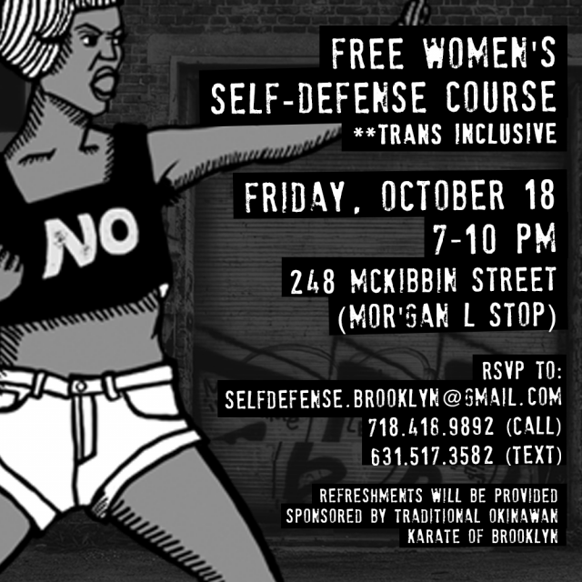 Women's Self-Defense Class (free!)