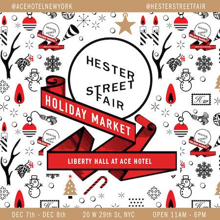 Hester Street Fair Holiday Market