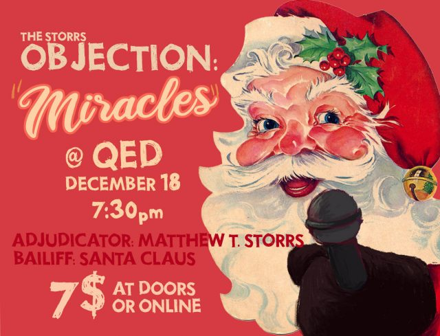 The Storrs Objection: Miracles