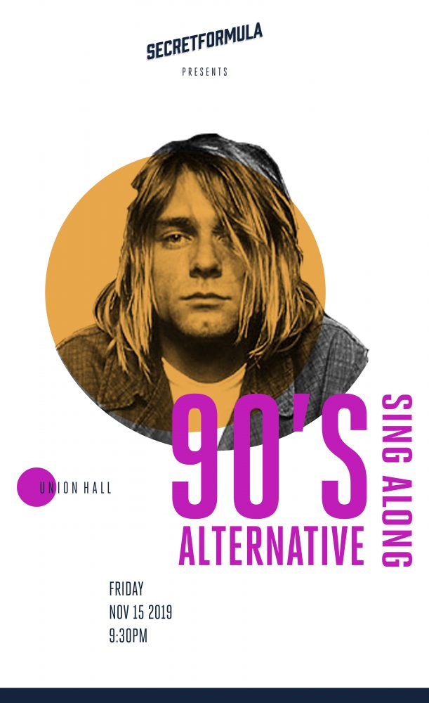 90's Alternative Sing-Along