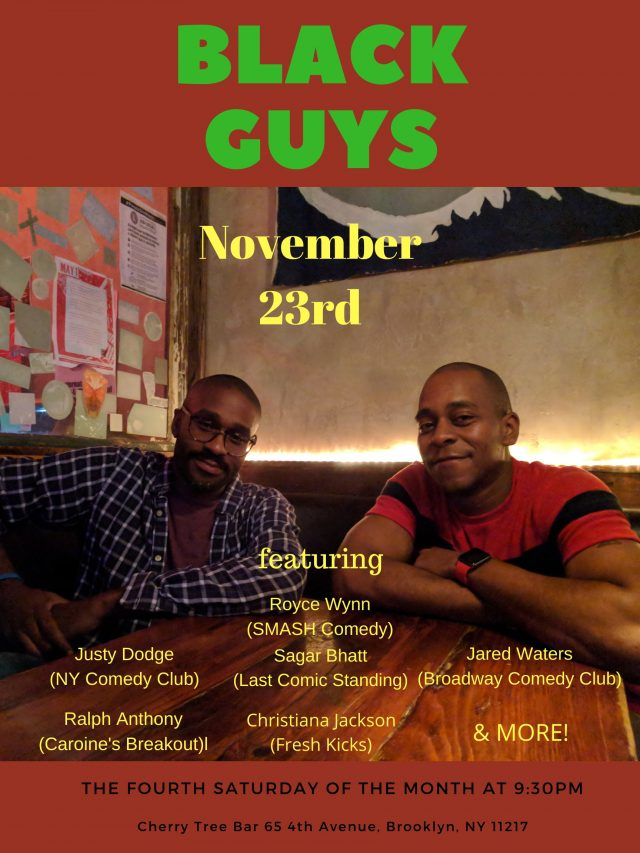 Black Guys: Comedy Show