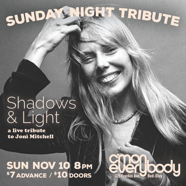 Shadows & Light: A live tribute to Joni Mitchell