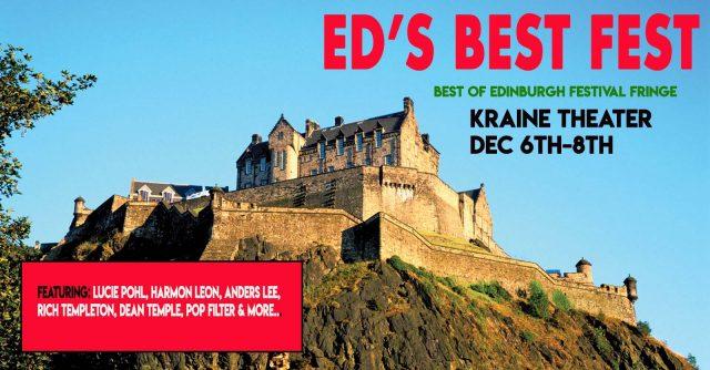 Ed's Best Fest: The Best of Edinburgh Festival