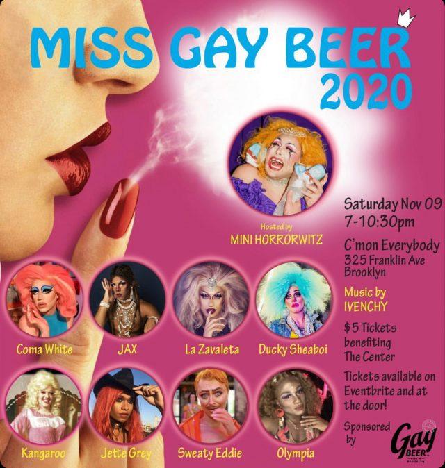 Miss Gay Beer 2020