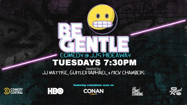 11/26 Be Gentle: Free Comedy Show in Williamsburg