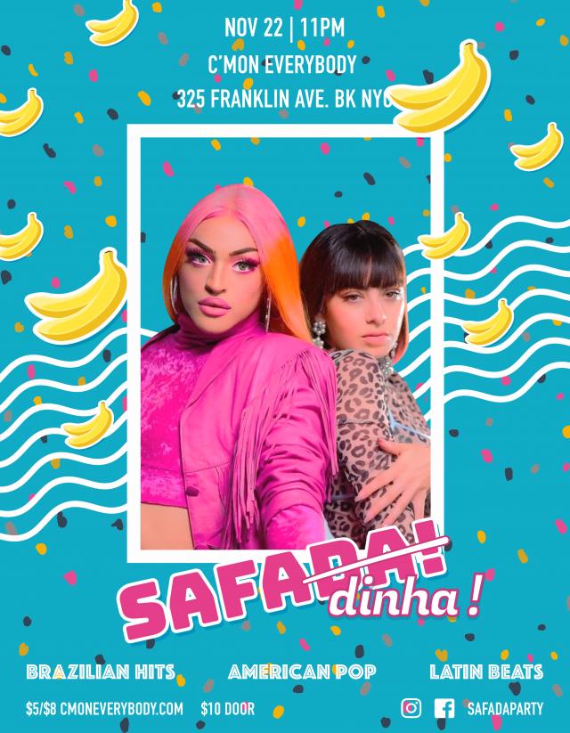 Safada! A Brazilian Hits, American Pop & Latin Beats Party