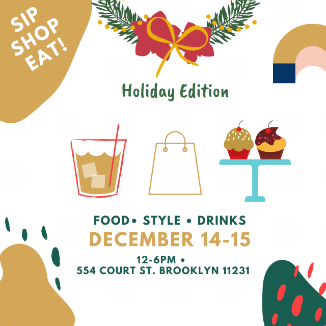 Sip Shop Eat! Holiday Pop-UP