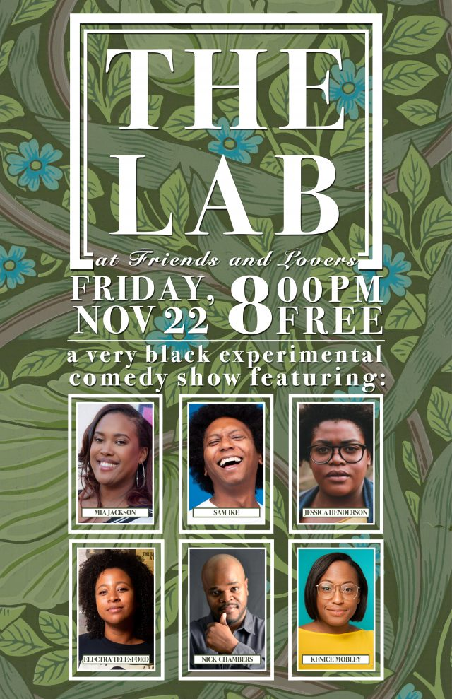 The Lab at Friends and Lovers