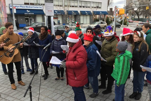 FAB Holiday Caroling at Fowler Square