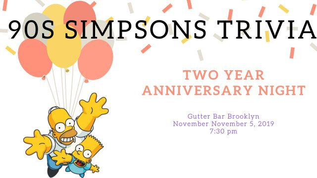 90s Simpsons Trivia