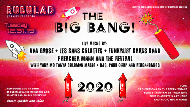 Rubulad Presents The Big Bang!