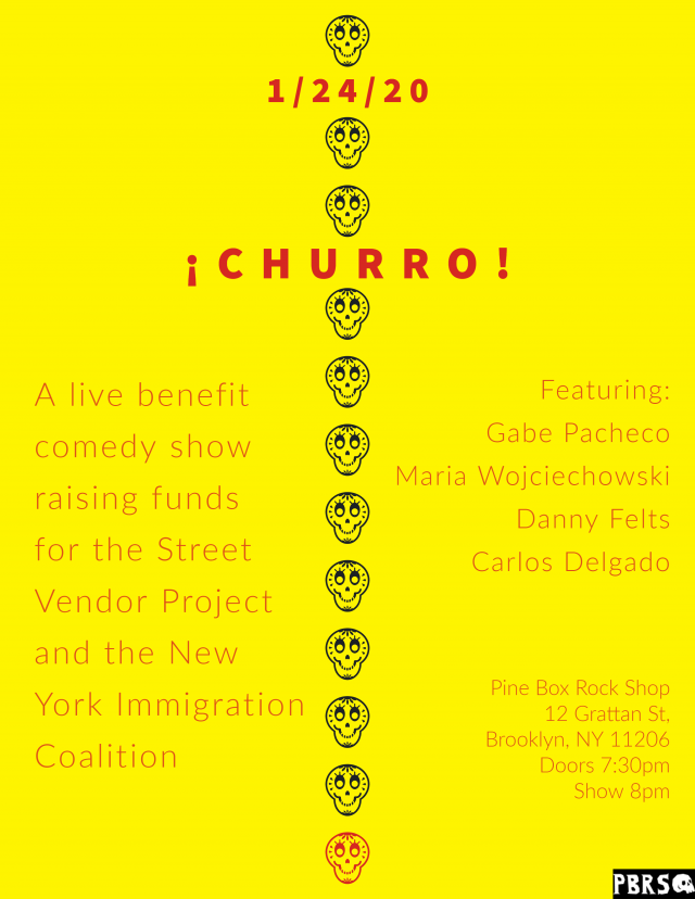 ¡Churro! A Benefit Comedy Show