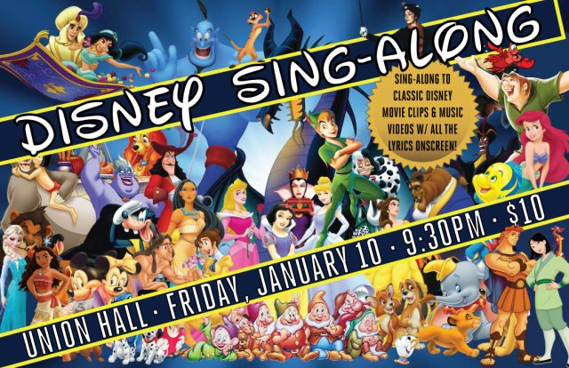 The Disney Sing-Along