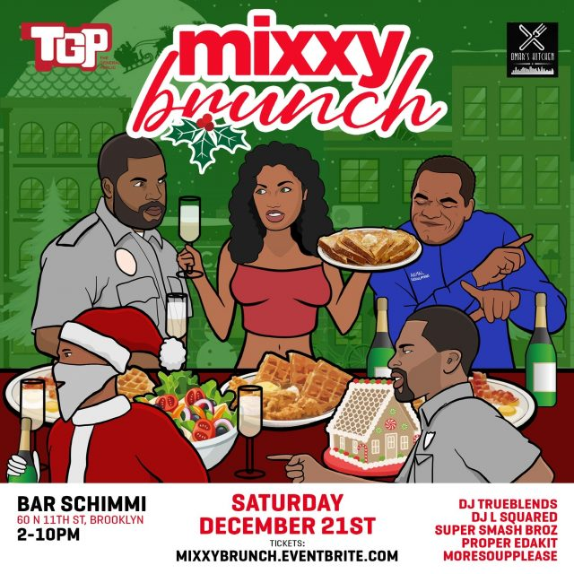 "The General Public Brings You ""MixxyBrunch"" on Saturday, December 21st!"